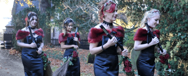 Gothic Themed Wedding