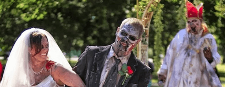 Zombie Wedding Theme